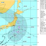 台風10号(2016)の米軍最新進路予想を調べてみた!今回の注意点は3つらしい。